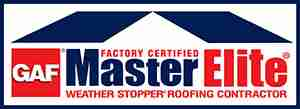 GAF Master Elite Certified Roofer