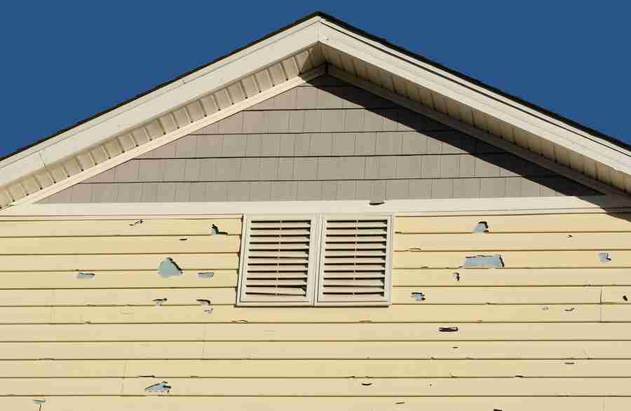 damaged siding in Knoxville, TN